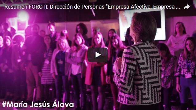 """Vídeo resumen del II FORO: Dirección de Personas """"Empresa Afectiva, Empresa Efectiva"""""""